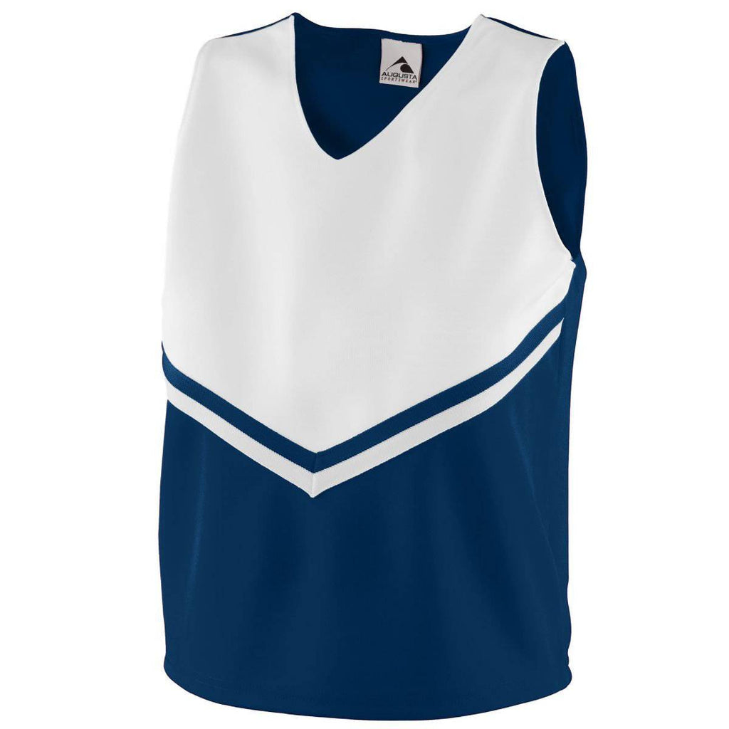 Augusta 9111 Girls Pride Shell - Navy White - HIT A Double