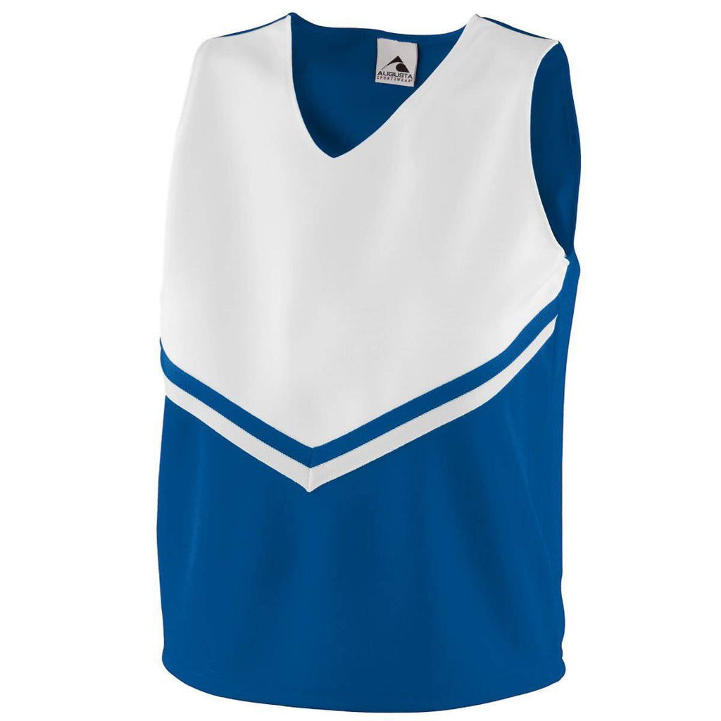 Augusta 9111 Girls Pride Shell - Royal White - HIT A Double