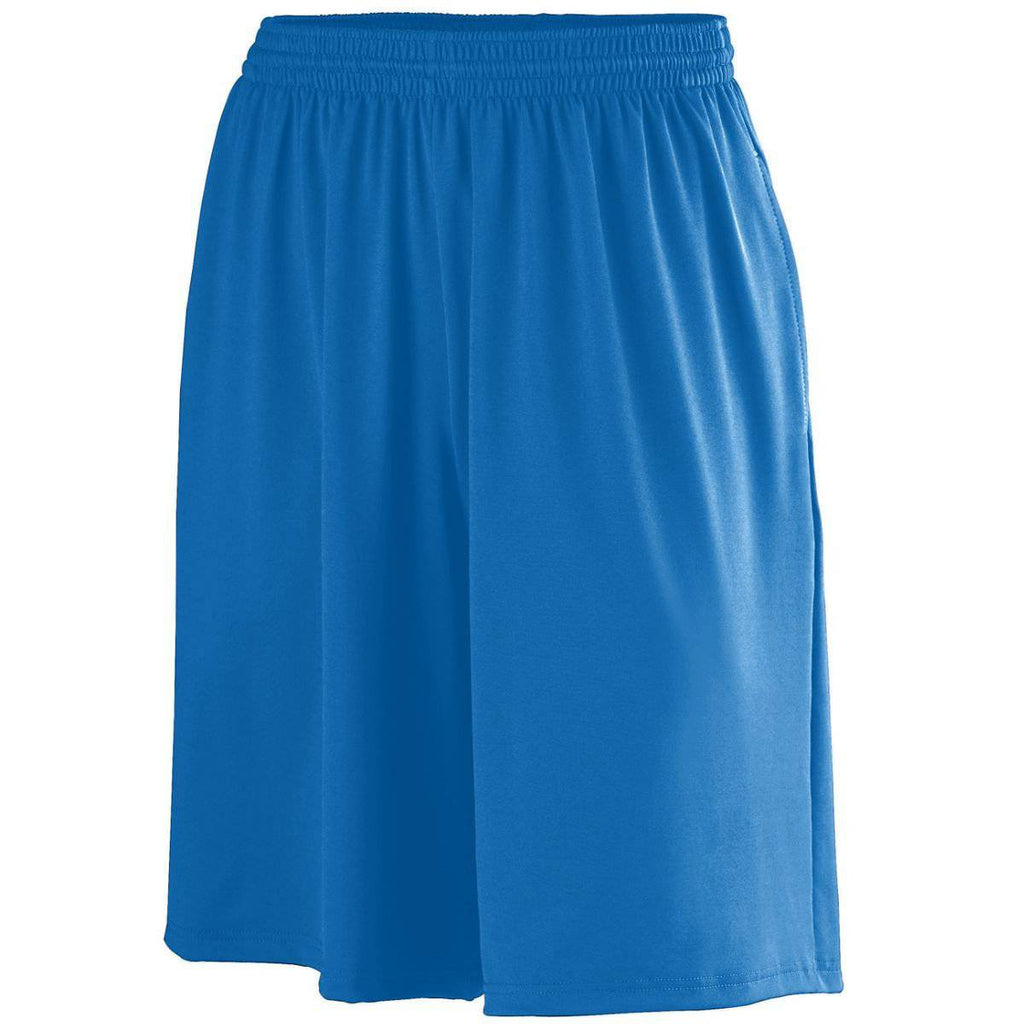 Augusta 949 Poly/Spandex Short with Pockets - Royal - HIT A Double