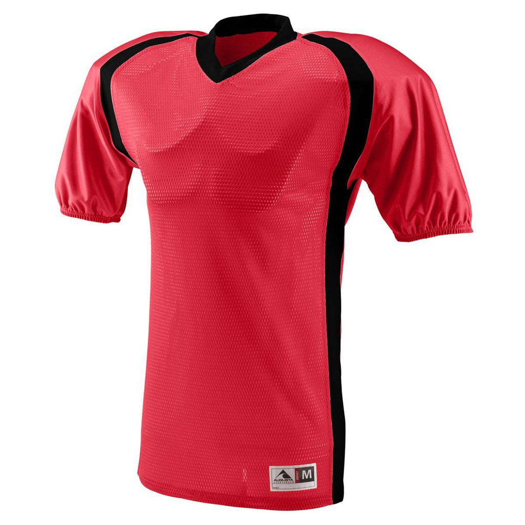 Augusta 9530 Blitz Jersey - Red Black - HIT A Double