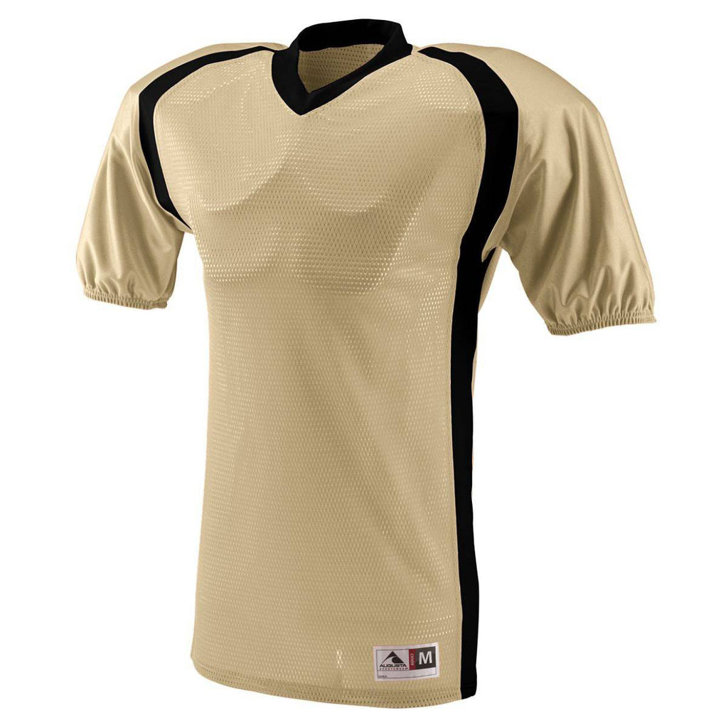 Augusta 9531 Blitz Jersey - Youth - Vegas Gold Black - HIT A Double