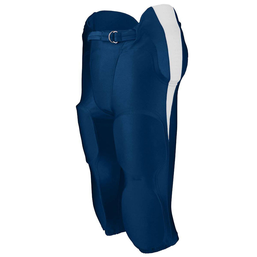 Augusta 9605 Kick Off Integrated Football Pant - Navy White - HIT A Double