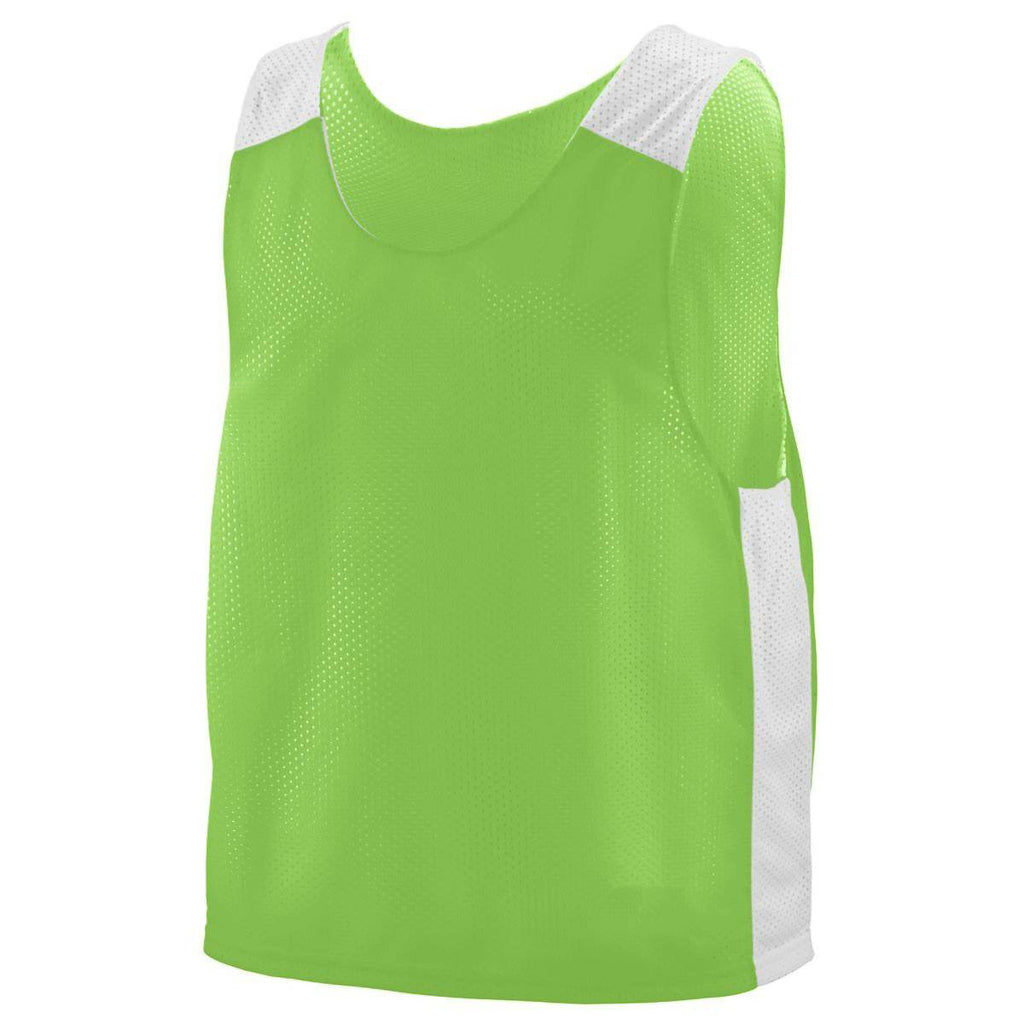 Augusta 9716 Face Off Reversible Jersey Youth - Lime White - HIT A Double