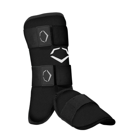 EvoShield SRZ-1 Youth Batter's Leg Guard - Black