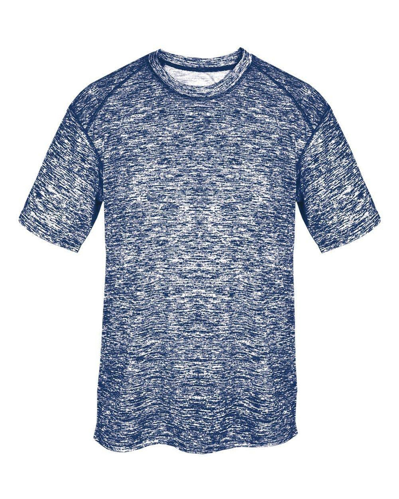 Badger 2191 Blend Youth Tee - Navy Blend - HIT A Double