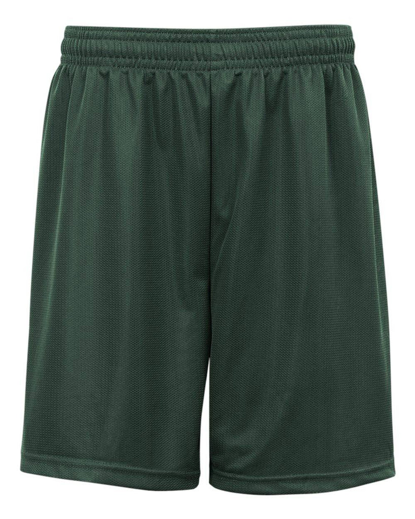 Badger 2237 Youth. Mini Mesh Short - Forest - HIT A Double