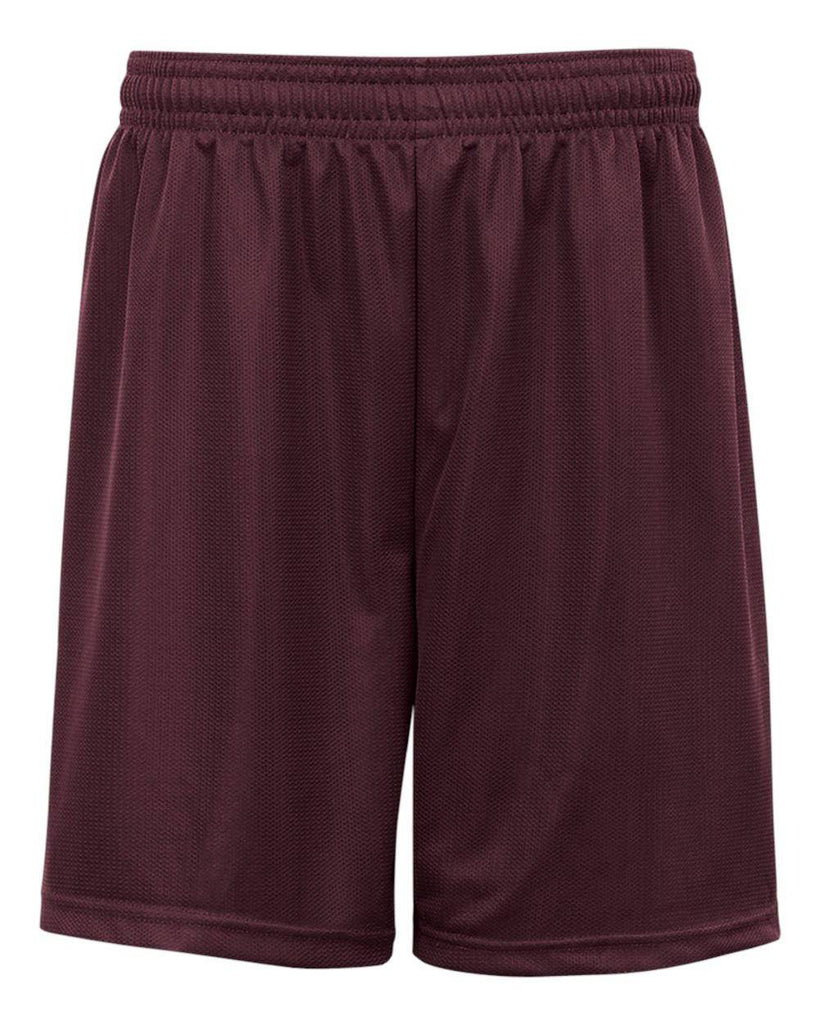 Badger 2237 Youth. Mini Mesh Short - Maroon - HIT A Double