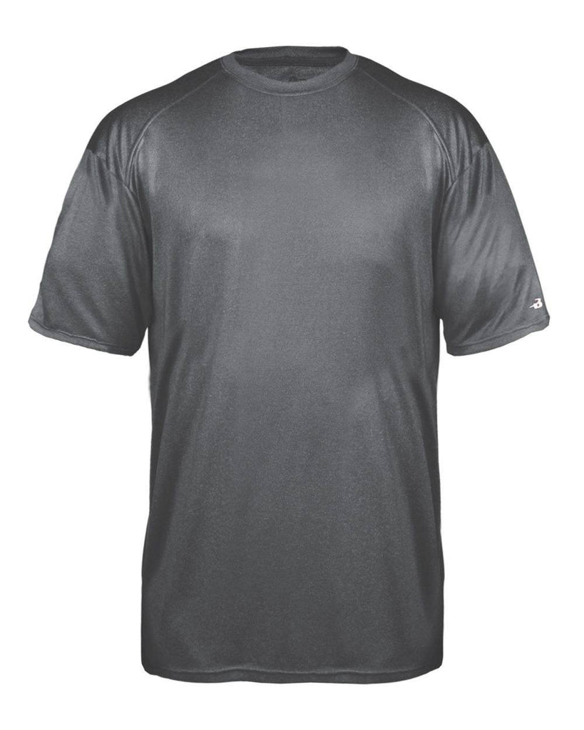 Badger 2320 Pro Heather Youth Tee - Carbon - HIT A Double