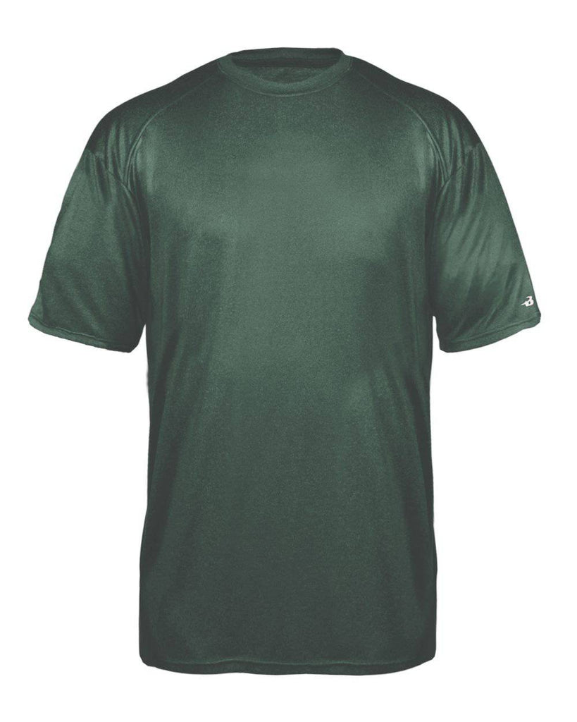 Badger 2320 Pro Heather Youth Tee - Forest - HIT A Double