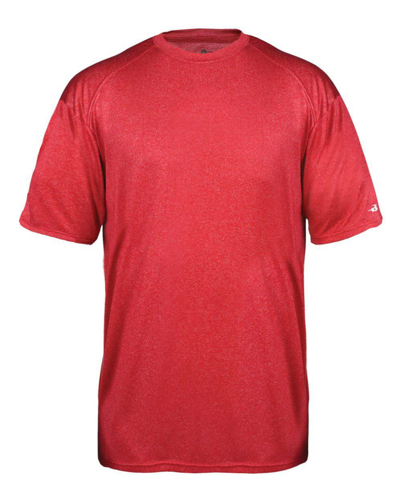 Badger 2320 Pro Heather Youth Tee - Red - HIT A Double