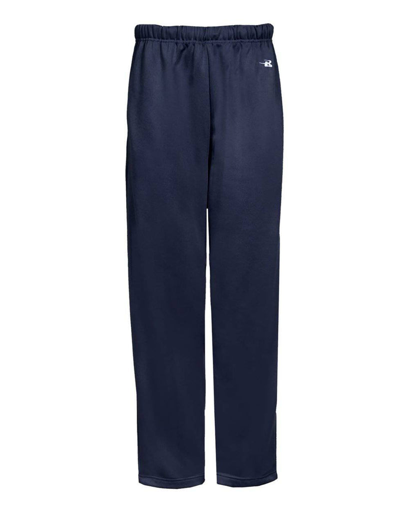 Badger 2478 Perf. Youth Open Bottom Pant - Navy - HIT A Double