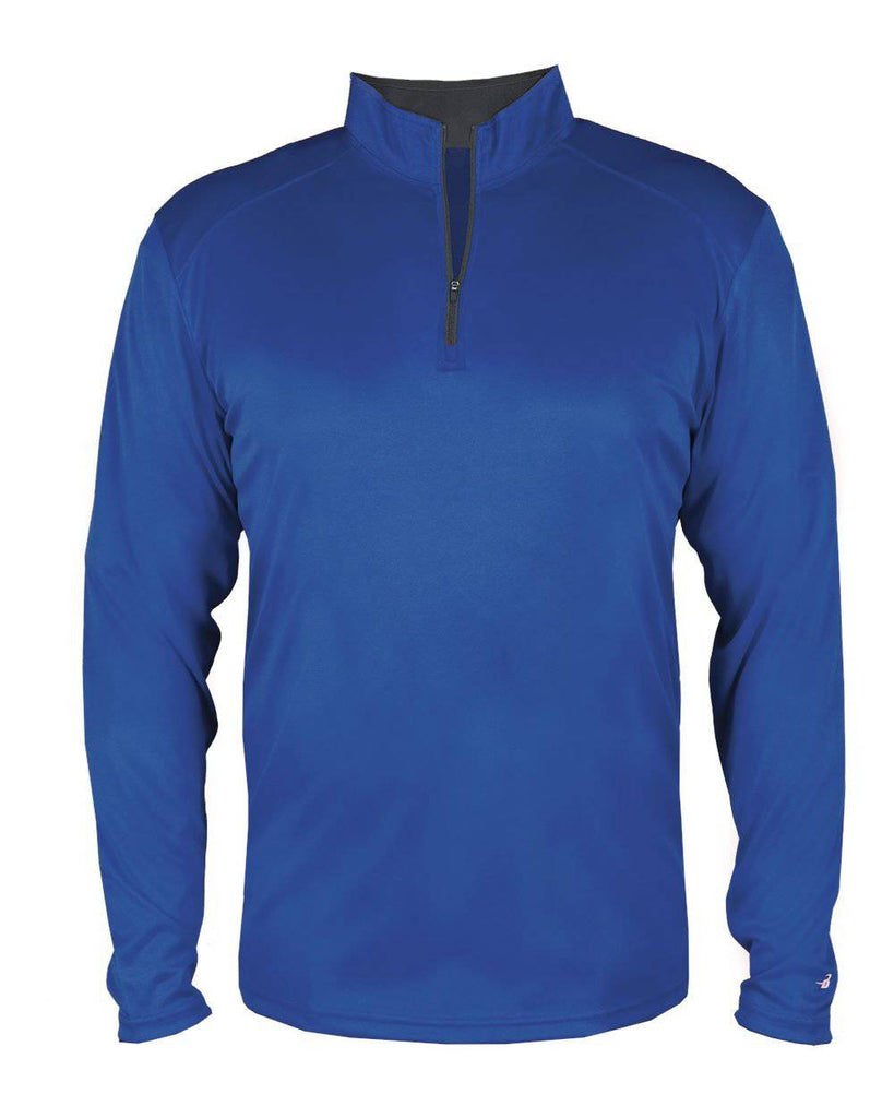 Badger 4102 B-Core 1/4 Zip - Royal Graphite - HIT A Double