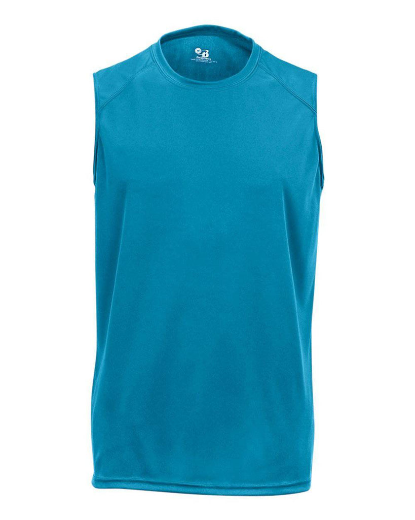 Badger 4130 B-Core Sleeveless Tee - Blue - HIT A Double
