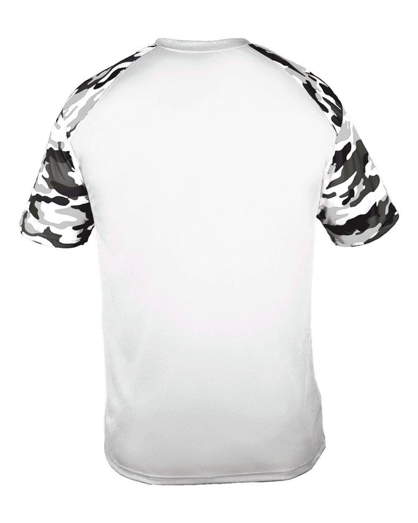 Badger 4141 Camo Sport Adult Tee - White White Camo - HIT A Double