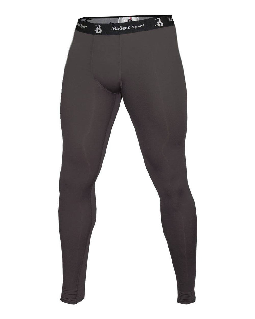 Badger 4610 Full Length Compression Tight - Graphite - HIT A Double