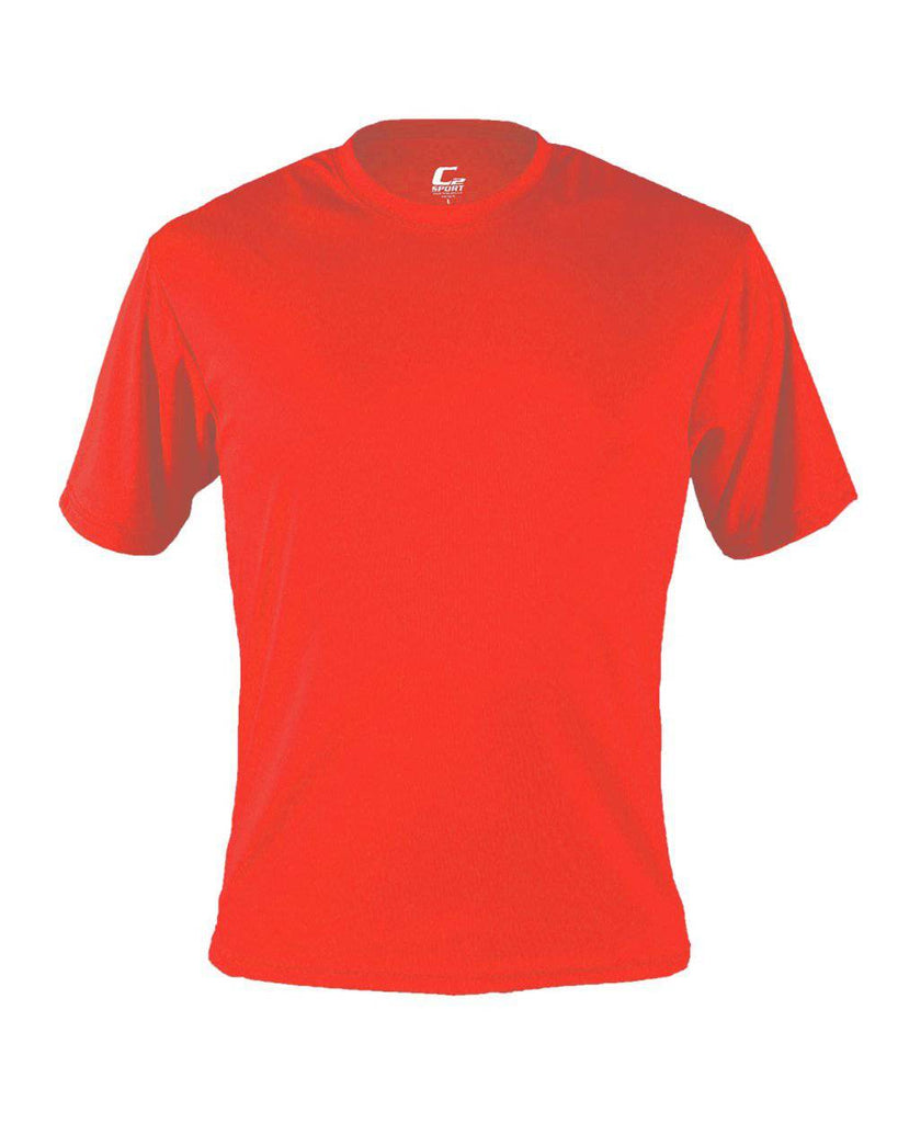 Badger 5100 C2 Performance Tee - Hot Coral - HIT A Double