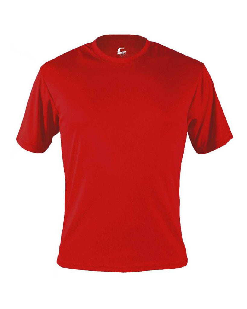 Badger 5100 C2 Performance Tee - Red - HIT A Double