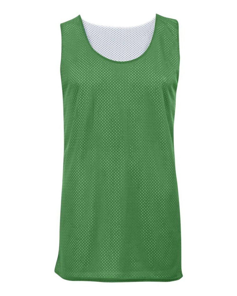 Badger 8529 Mesh Reversible Tank - Kelly White - HIT A Double