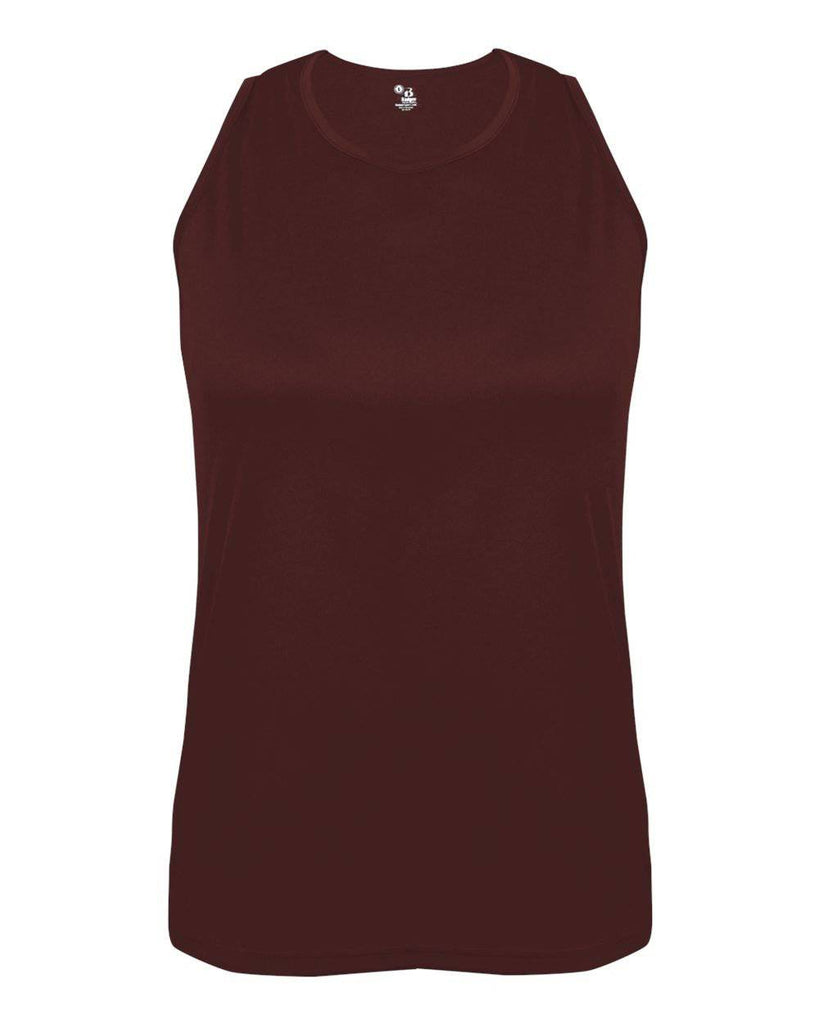 Badger 8962 B-Core Ladies Singlet - Maroon - HIT A Double
