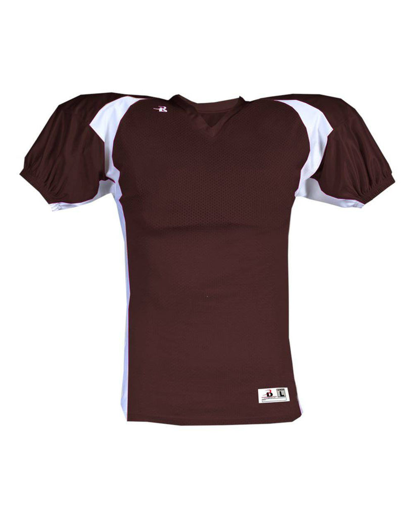Badger 9482 B-Dry Rockies Jersey - Maroon White - HIT A Double