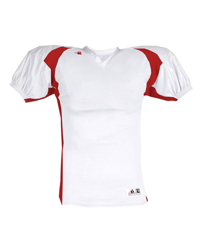 Badger 9482 B-Dry Rockies Jersey - White Red - HIT A Double