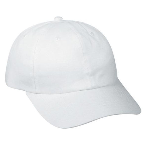 OC Sports BCT-662 Adjustable Cap - White