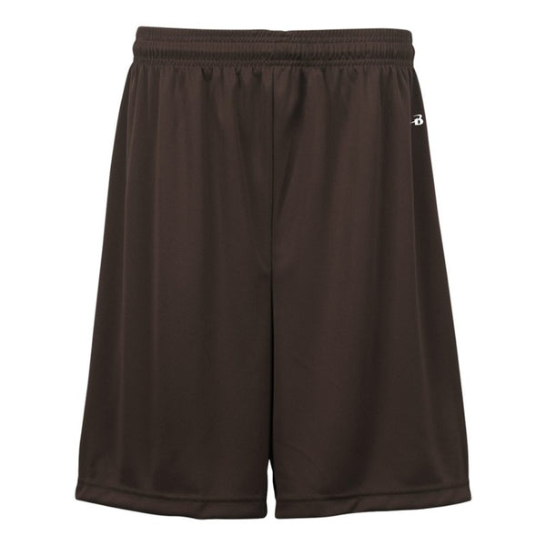 "Badger 2107 B-Core Youth 6"" Short - Brown - Basketball, Lacrosse/Field Hockey, Fanwear, Training/Running, Fanwear - Hit A Double"