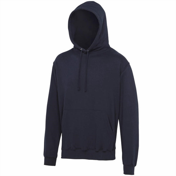 Just Hoods JHA001 College Hoodie - French Navy