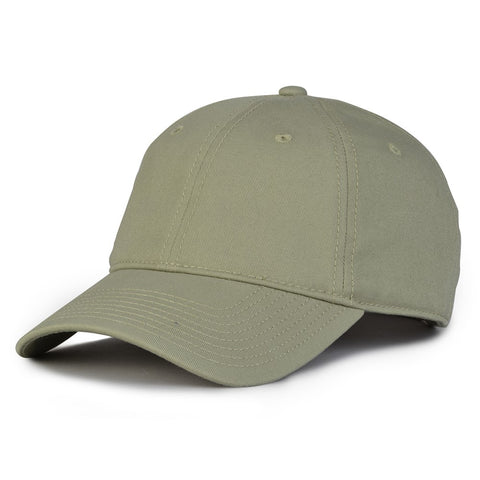 The Game GB210 Classic Relaxed Garment Washed Twill Cap - Avocado