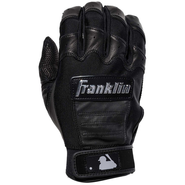 Franklin CFX Pro Chrome Adult Batting Gloves - Black