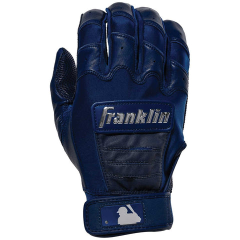 Franklin CFX Pro Chrome Adult Batting Gloves - Navy