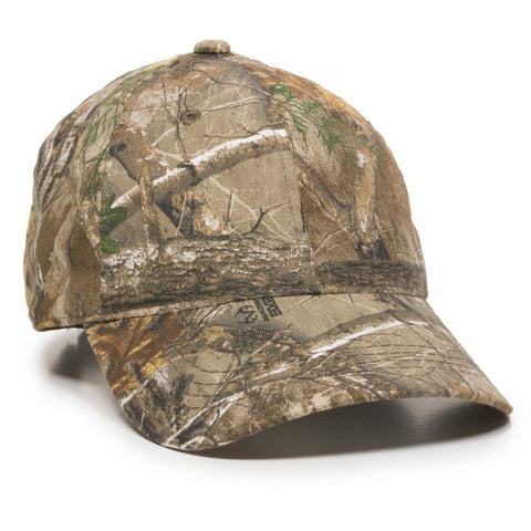 OC Sports CGW-115 Garment Washed Camo - Realtree Edge