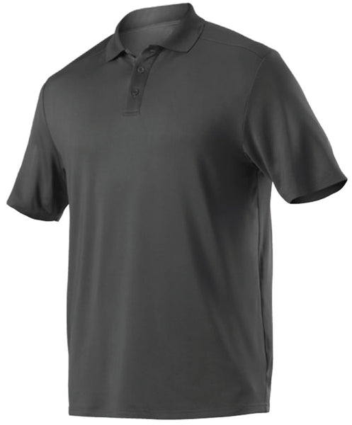Alleson GPL5 Adult Gameday Polo - Charcoal - Band, Bowling, Fanwear, Golf - Hit A Double