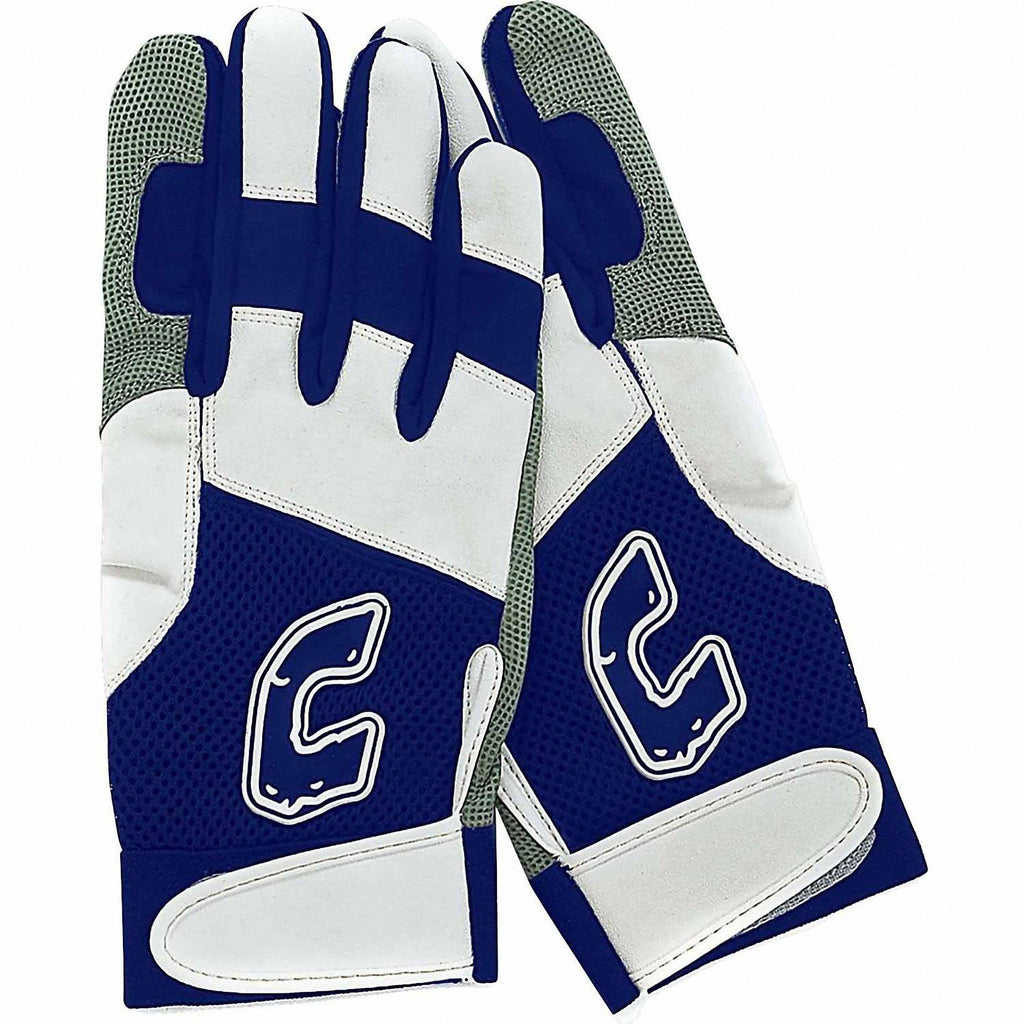 Combat Ultra Dry Mesh Batting Gloves Youth - Navy - HIT A Double