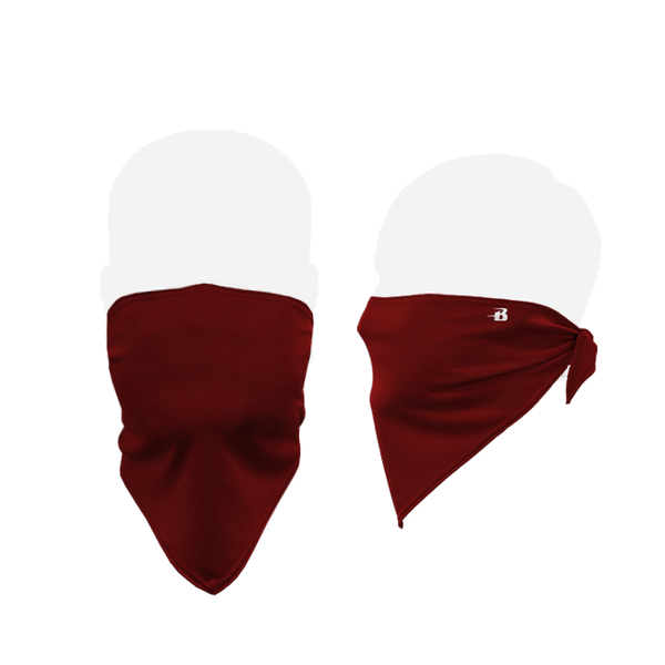 Badger 1919 B-Core Face Bandana - Cardinal