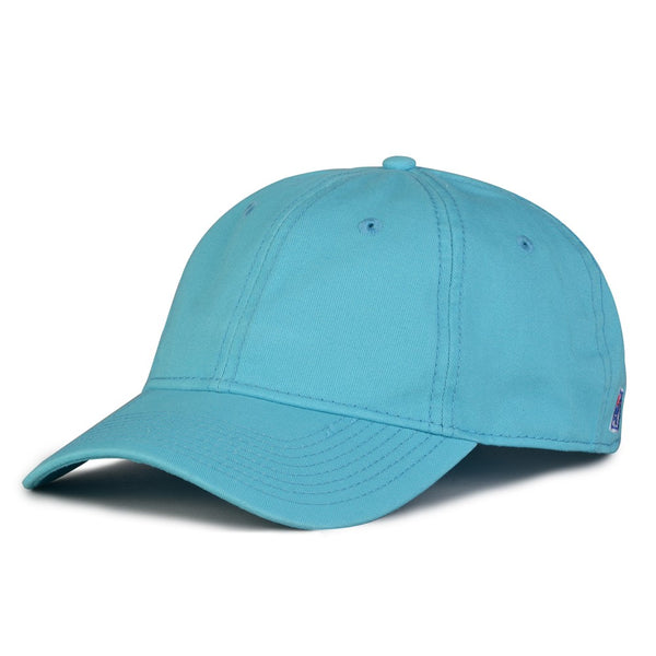 The Game GB210 Classic Relaxed Garment Washed Twill Cap - Blue Taffy