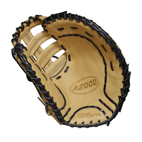 "Wilson A2000 2800 12.00"" 1st Base Mitt WTA20RB192800 - Black Cork WTA20RB192800 - Hit A DoubleWTA20RB192800 - 1"