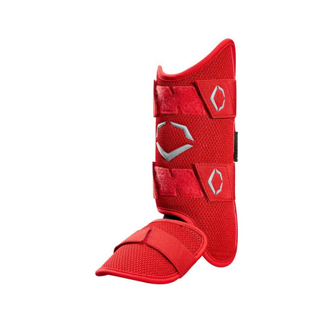 EvoShield Pro-SRZ Batter's Leg Guard - Red