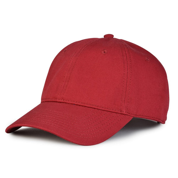 The Game GB210 Classic Relaxed Garment Washed Twill Cap - Cardinal