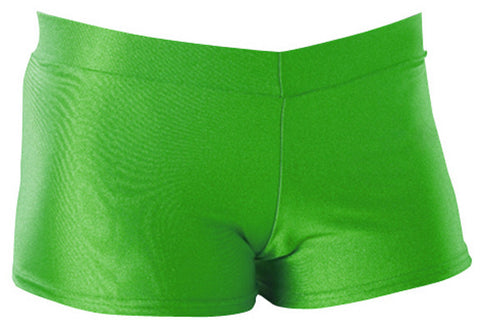 Pizzazz Pizzazzleaders/Dance Hot Shorts - Neon Lime