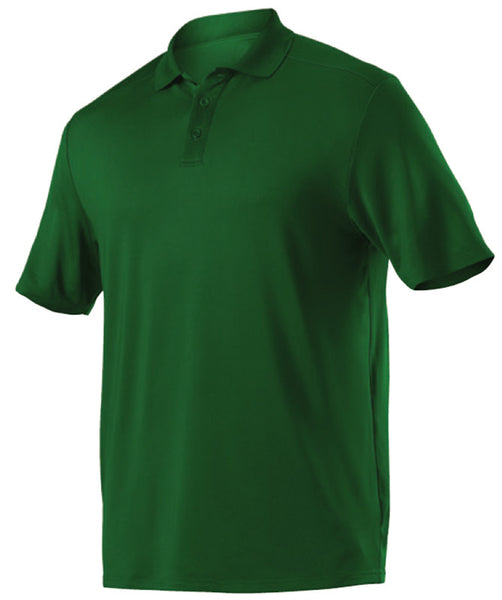 Alleson GPL5 Adult Gameday Polo - Forest - Band, Bowling, Fanwear, Golf - Hit A Double