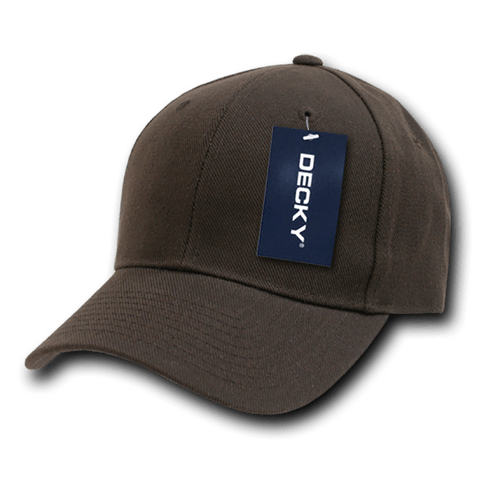 Decky 402 Fitted Cap - Brown - HIT A Double