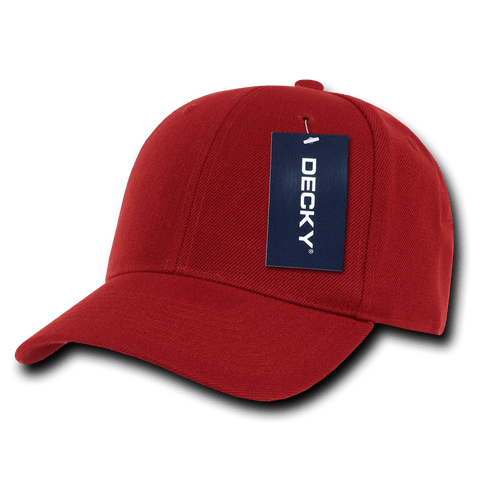 Decky 402 Fitted Cap - Cardinal - HIT A Double