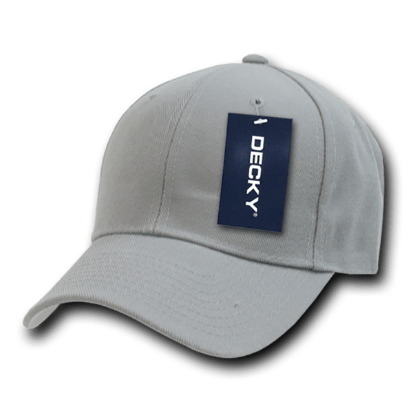 Decky 402 Fitted Cap - Gray - HIT A Double
