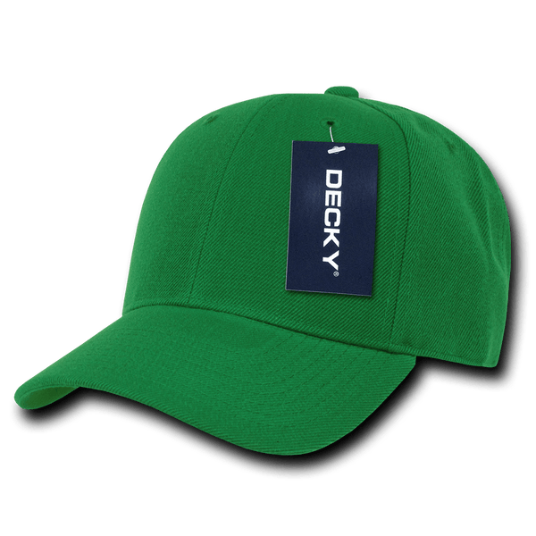 Decky 402 Fitted Cap - Kelly Green - HIT A Double