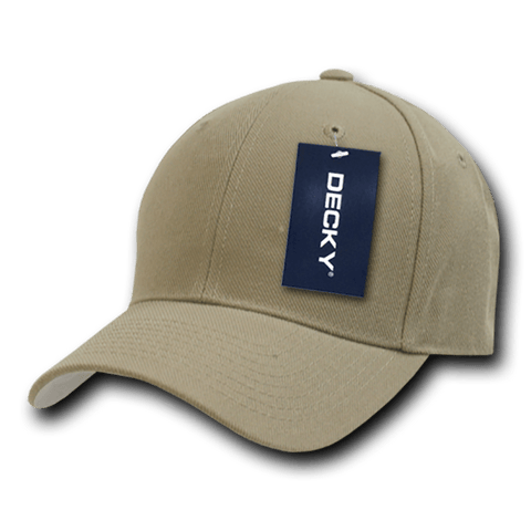 Decky 402 Fitted Cap - Khaki - HIT A Double
