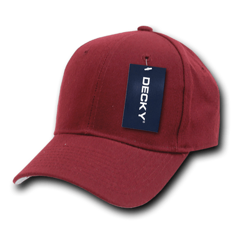 Decky 402 Fitted Cap - Maroon - HIT A Double