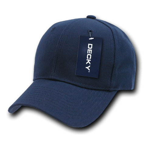 Decky 402 Fitted Cap - Navy - HIT A Double