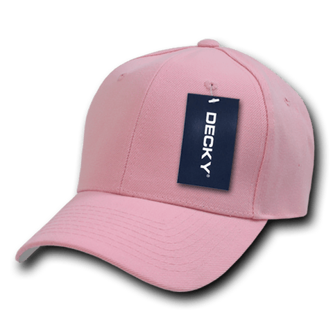 Decky 402 Fitted Cap - Pink - HIT A Double