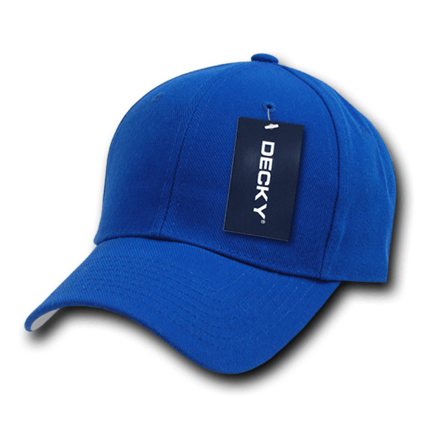 Decky 402 Fitted Cap - Royal - HIT A Double
